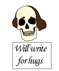Will write for hugs